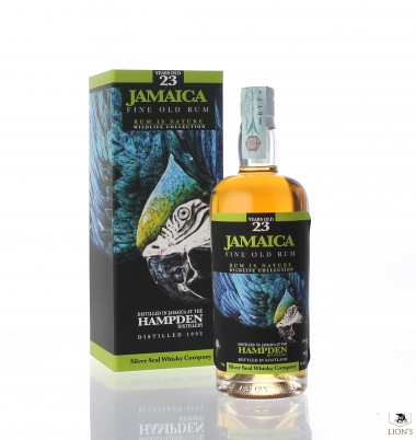 Jamaica Hampden Rum 1992 23yo 50% Silver Seal