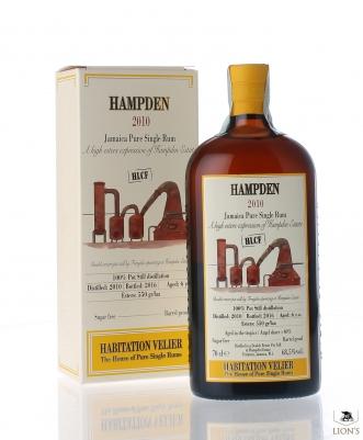 Jamaica Hampden Rum 2010 6yo 68.5% Habitation Velier