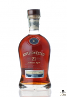 Jamaica Rum Appelton 21 years old