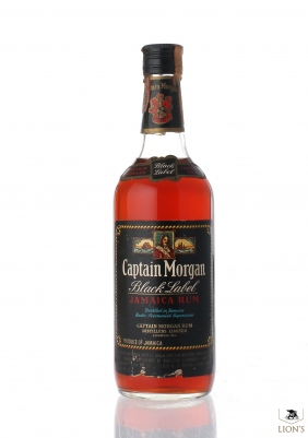 Jamaica Rum Captain Morgan Black Label