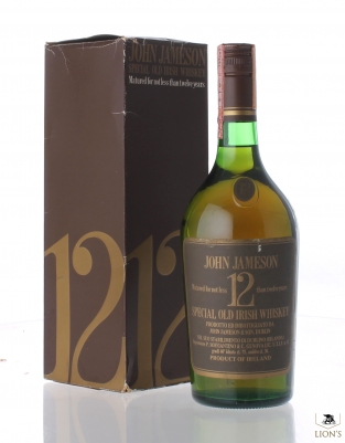 John Jameson 12 years old 40% 75cl