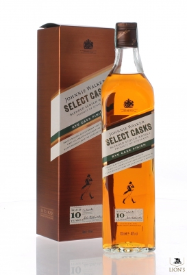 Johnnie Walker Selected casks Rye Finish