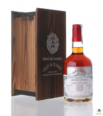 Jura 1976 37 years  53.9% Hunter Laing