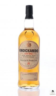 Knockando 1976 1 litre
