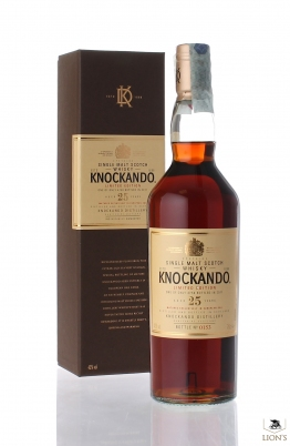 Knockando 25yo 43% 70cl 4758bottles B2011