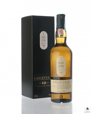 Lagavulin 12 years old 57.7% 200th anniversary