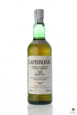 Laphroaig 10 Years Old 43% 1 Litre