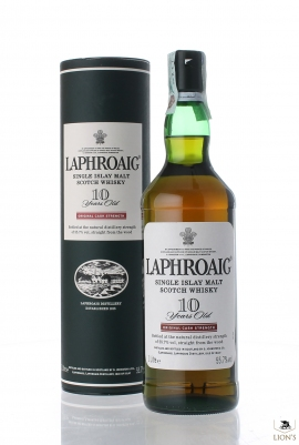 Laphroaig 10 years old 55.7% 1 litre