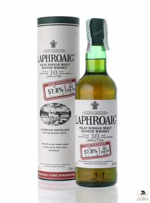 Laphroaig 10 years old 57.8% batch 1 Cask Strength
