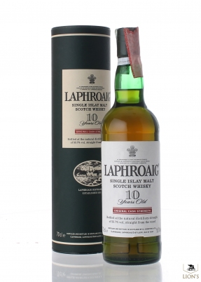 Laphroaig 10 years old Cask Strength 55.7%