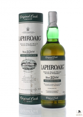 Laphroaig 10 years old 57.3% green stripe