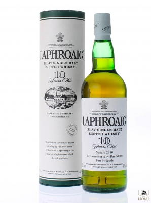 Laphroaig 10 years old 44th anniversary Bar Metro