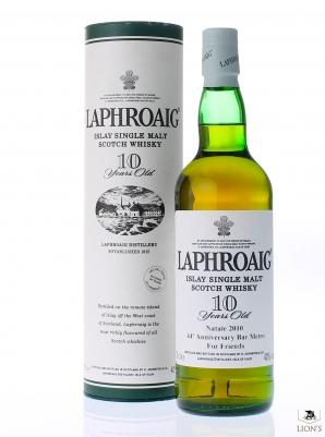 Laphroaig 10 years old 44th anniversary Bar Metro