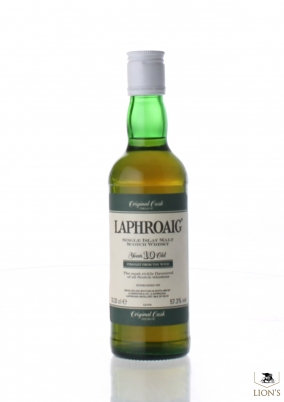 Laphroaig 10 years old 57.3% 33.33 cl
