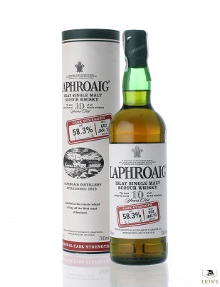 Laphroaig 10yo 58.3% batch 2 Cask Strength