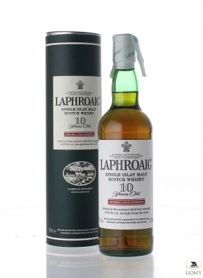 Laphroaig 10yo Cask strength red stripe