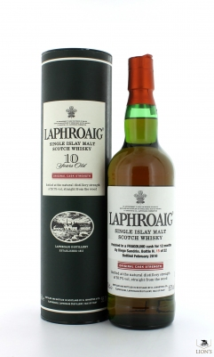 Laphroaig 10yo Fragolino Finish by Diego Sandrin