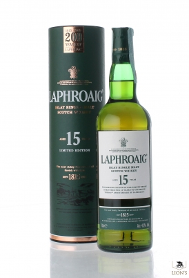 Laphroaig 15 years old  200 years of laphroaig