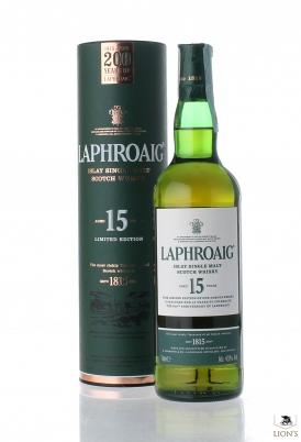 Laphroaig 15 years old  200 years of laphroaig