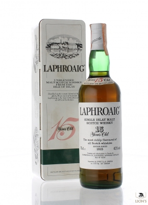 Laphroaig 15 years old Spirit Import