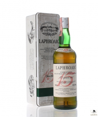 Laphroaig 15 Years Old Cinzano no box