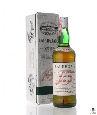 Laphroaig 15 Years Old Cinzano no box