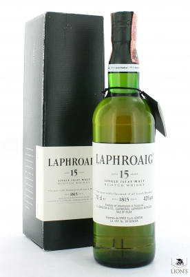 Laphroaig 15yo 43% 70cl green box