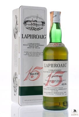 Laphroaig 15 years old Cinzano Red Fifteen