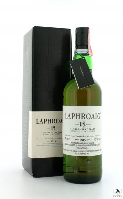 Laphroaig 15yo Allied Domecq import
