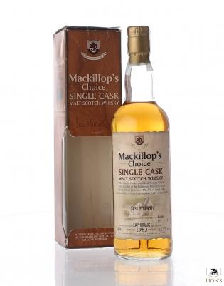 Laphroaig 1983 52.5% cask 1849 Mackillop's Choice