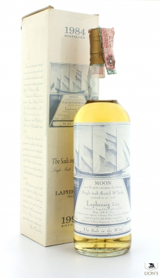 Laphroaig 1984 Moon Import Sails in the Wind