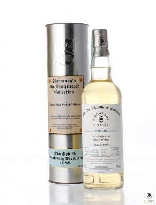 Laphroaig 1988 16 years old cask 3614 Signatory