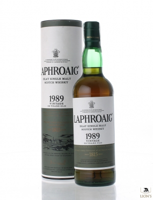 Laphroaig 1989 23 years old 48.9%