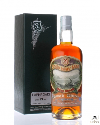 Laphroaig 1990 21 years old 57.7% SIlver Seal