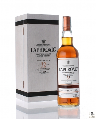 Laphroaig 32 years old 46.6%