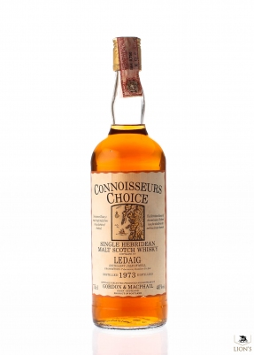 Ledaig 1973 Connoisseur's Choice map label