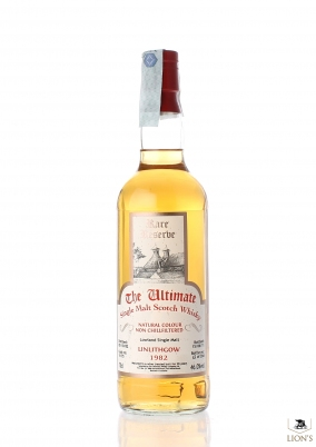 Linlithgow 1982  cask 11/75 The Ultimate rare reserve