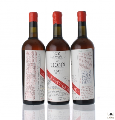 Lion's Charity VAT bottle
