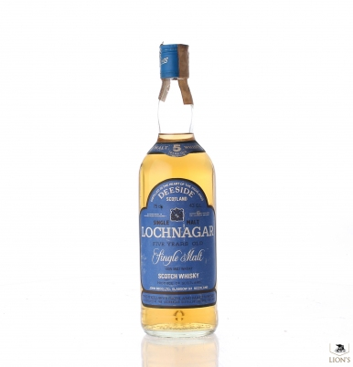 Lochnagar 5yo 43% 75cl blue label
