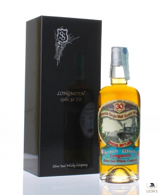 Longmorn 1981 30 years old 50.3% Silver Seal