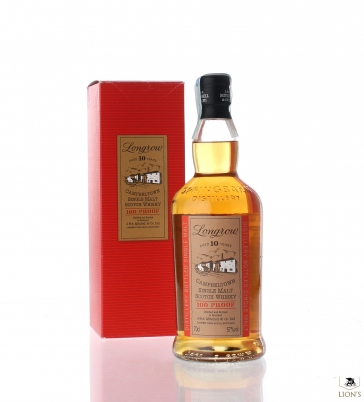 Longrow 10 years old 100 proof