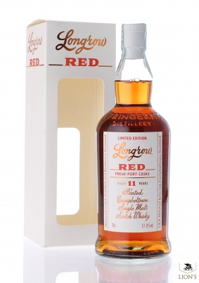 Longrow RED port Cask 11 years old 51.8%