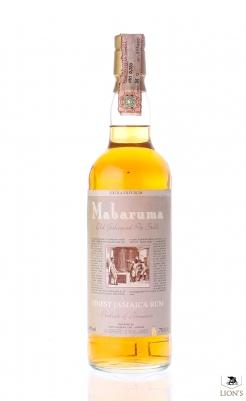 Rum Jamaica Mabaruma extra old