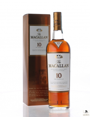 Macallan 10 years old sherry