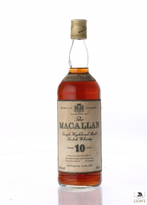 Macallan 10 years old Metal Cap