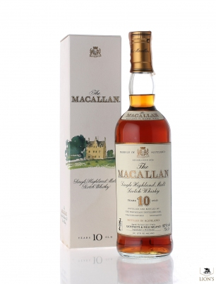 Macallan 10 years old 75cl Giovinetti