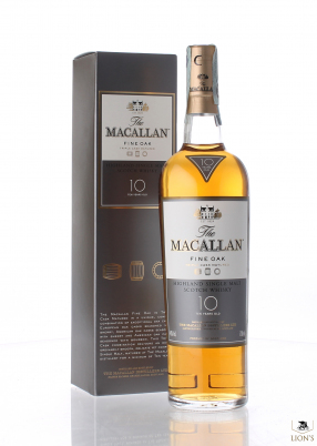 Macallan 10yo fine oak