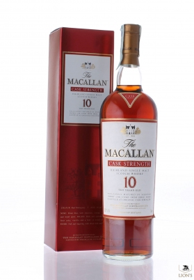 Macallan 10 years old 58.1% Cask strength
