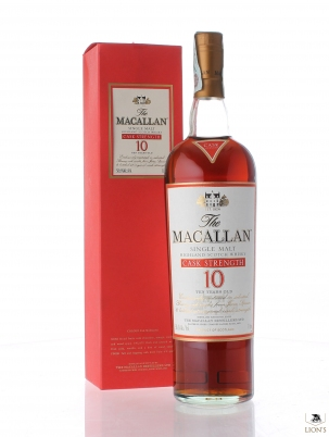 Macallan 10 years old 58.6% 1 litre Cask strenght