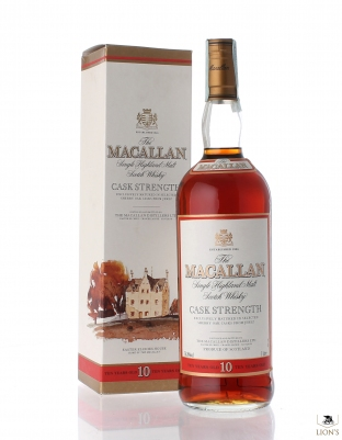 Macallan 10 years old 58.8% Cask strength